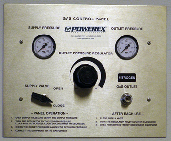 Gas Control Panel